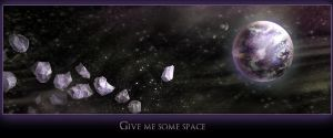 Give me some space by Ronamis
