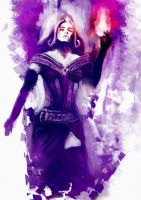 Speedpainting - Liliana by Rochnan