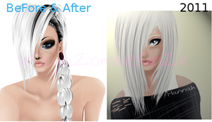 Hannah BeforeAndAfter by PosionWithin