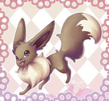 Eevee by Psunna