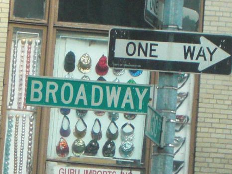 New York City Broadway by ForeverASickKid