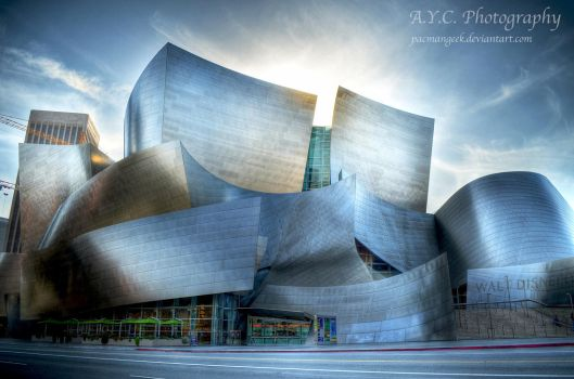 Walt Disney Concert Hall by pacmangeek
