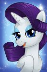 MLP Portrait Series: Rarity by ChrisWithATa