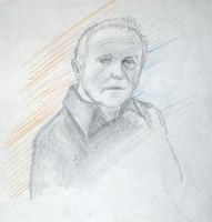 Anthony Hopkins Portrait by Zolaris