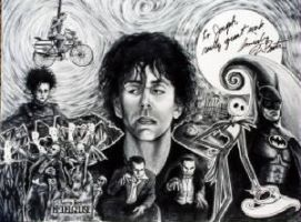Tim Burton Nightmare by joenamsinh