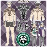 ZACHARY - Character sheet by RoMiNeItOr