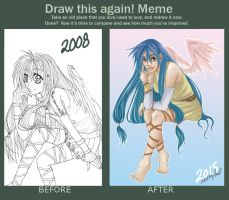 DrawThisAgain! Meme :: SPEEDPAINT AVAILABLE :: by AdlezAxel