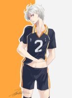 [Haikyuu!!] I might have a thing for Suga by Ze-RoFruits