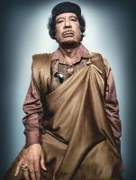 Colonel Muammar Gaddafi by TiGer4iQ