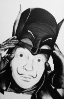 Bat-Dali by quartertofour