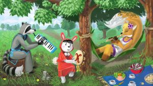Forest Band by nukinuki