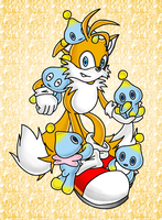 Tails and Chao by martianunicorn
