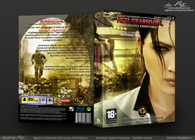 Metal Gear Solid 4 Exp. Boxart by reytime