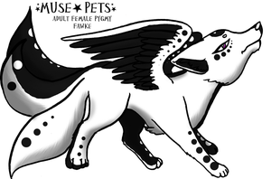 Melodywaters - NightBlizzard by Muse-Pets