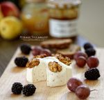 Cheese with walnuts by MirageGourmand