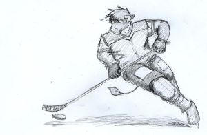 Hockey pose by GingaTokkyu