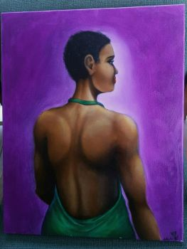 Lupita (finished work) by SharonIllumined