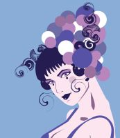 Detail Lilac Girl by remdesigns