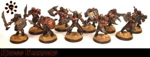 Feral Humans - Krogg Warriors by Proiteus
