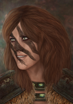 Aela the huntress by Cadkinn