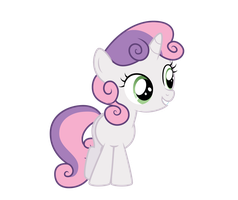 Vector - Sweetie Belle by Ready2Fail