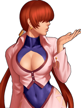 King of Fighters 98 UM OL Shermie by hes6789