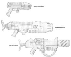 Imperial Weapons Sketches 3 by carlos1170