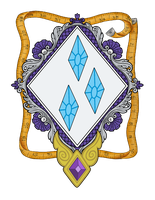 Rarity's Coat of Arms by Lord-Giampietro
