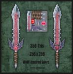 WoW inspired Sword by s-h-a-n-k-s