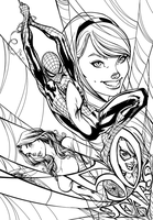 Amazing Spiderman - Inks by J-Skipper