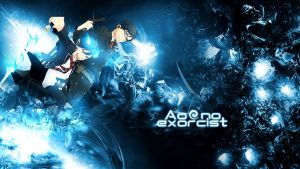 Wallpaper Ao no Exorcist HD by Sl4ifer
