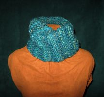 Blue Snood 1 by Lost-in-the-day