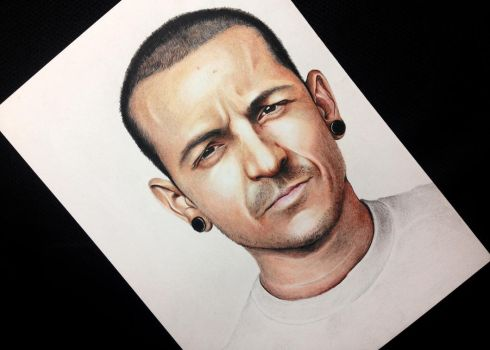 Chester Bennington ( Version II ) by Gutter1333