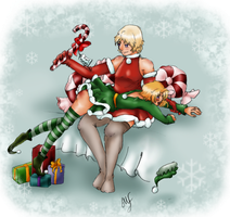 Matvey's Holiday Spanking by dark-yokokitsune