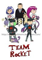 PokedexTime! Red/Blue Team Rocket by thelimeofdoom