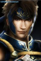 Dynasty Warriors 8: Yue Jin (Close Up) by nadinepazkye