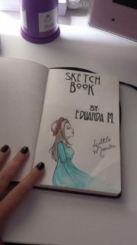 New Sketch Book :3 by SweetPosion-Chan