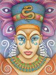 Nefertiti by Jose-Garel-Alvoeiro