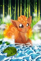 Pokemon: Vulpix by jiggly