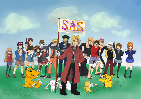 Anime Soc Banner by samanthacannon
