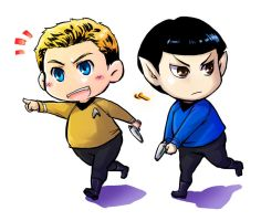 some small paster of Star trek by riyancyy777