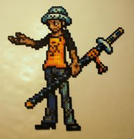 Trafalgar Law Bead Sprite by Crausse