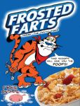 Frosted Farts Cereal Box art for the Bad Burrito by webbcomics