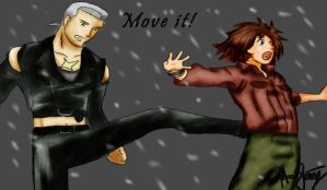 Move IT - Wolf's Rain by Mojja