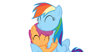 I'll take you under my wing by Rainbow-Cache