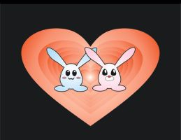 rabbits by Angie-Lucena