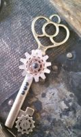 Steampunk Necklace by ShiftyCheesecake