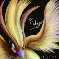 Pidgeot by Kaitall