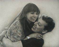 Vera and Aleksey by Lizapoly
