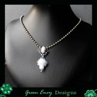 Crystalline water ice by green-envy-designs